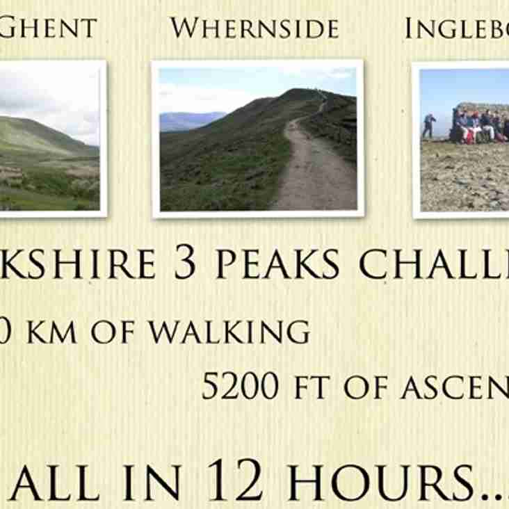 OGRUFC Yorkshire 3 Peaks Challenge