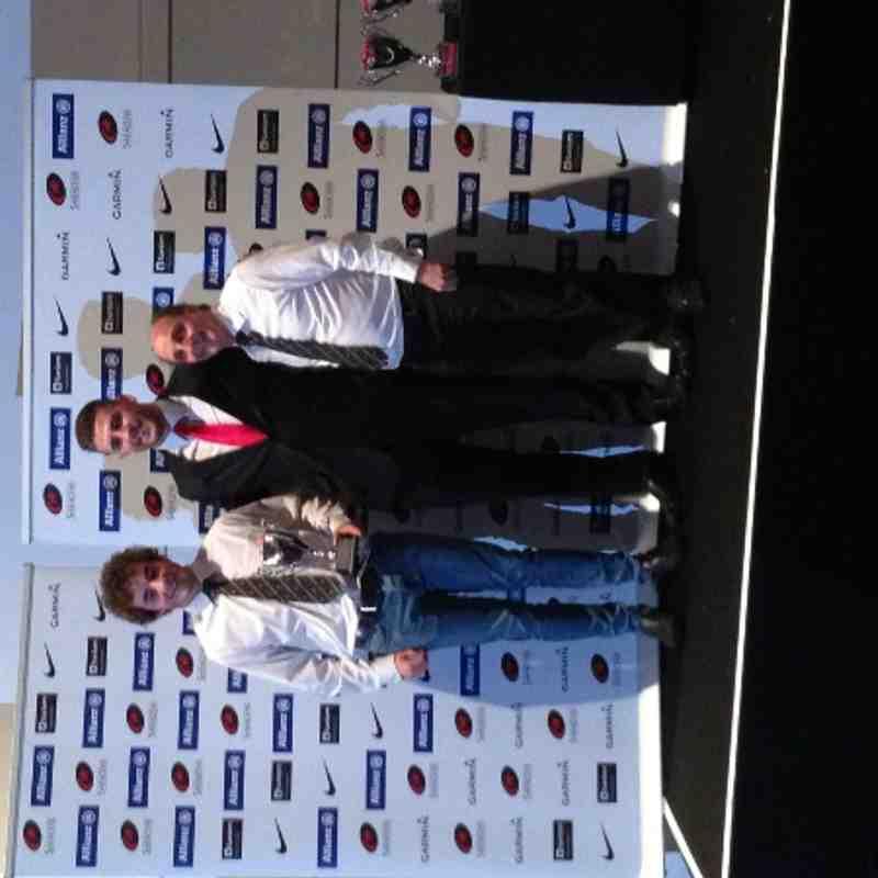 Cheshunt U17 Div 2 Winners Presentation