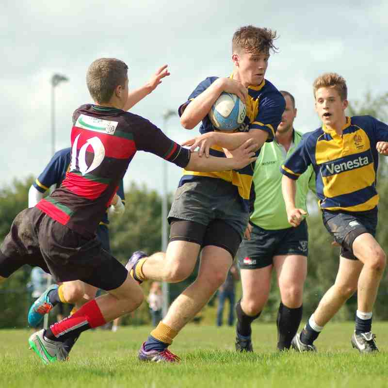 Ashbourne V Dronfield NLD Cup 13.09 2015