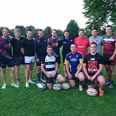 Kicking Practice with Sale Sharks