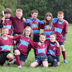 Rotherham U9s First Home game at Phoenix Park