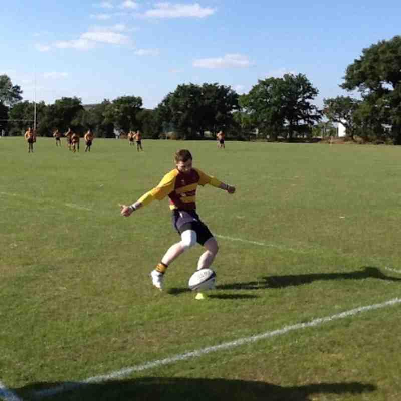 Hawks Vs Colchester Game 1 31/09/13