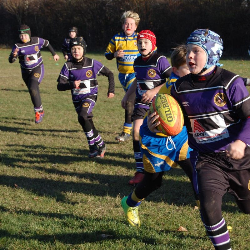 Romford U11's To Strong For Harlow and Enfield