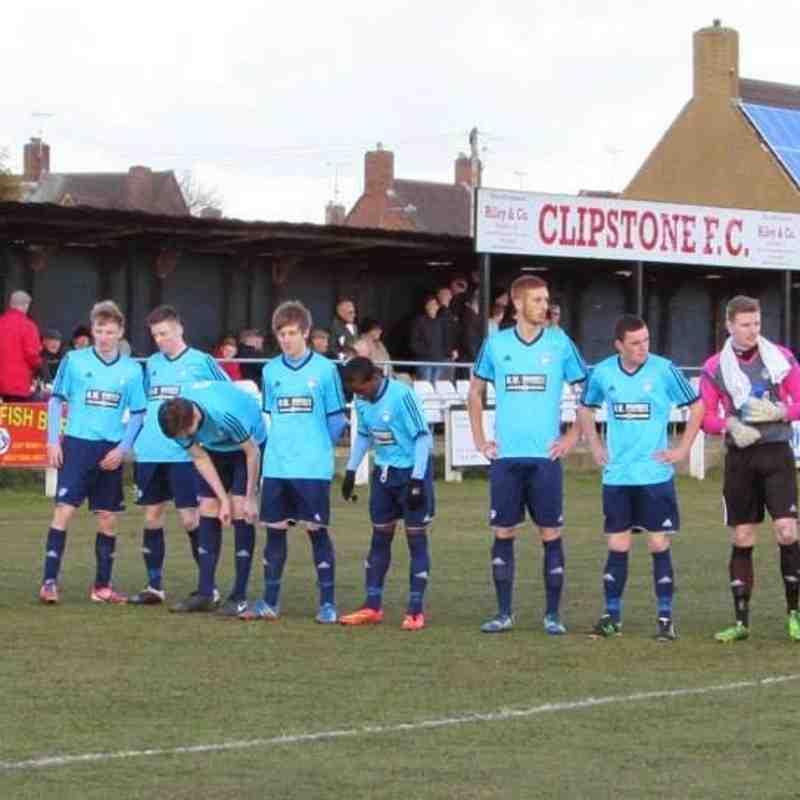 Clipston FC v Hems MWFC  21.02.2015
