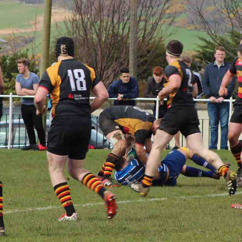 Whitecraigs v Greenock 9/4/16