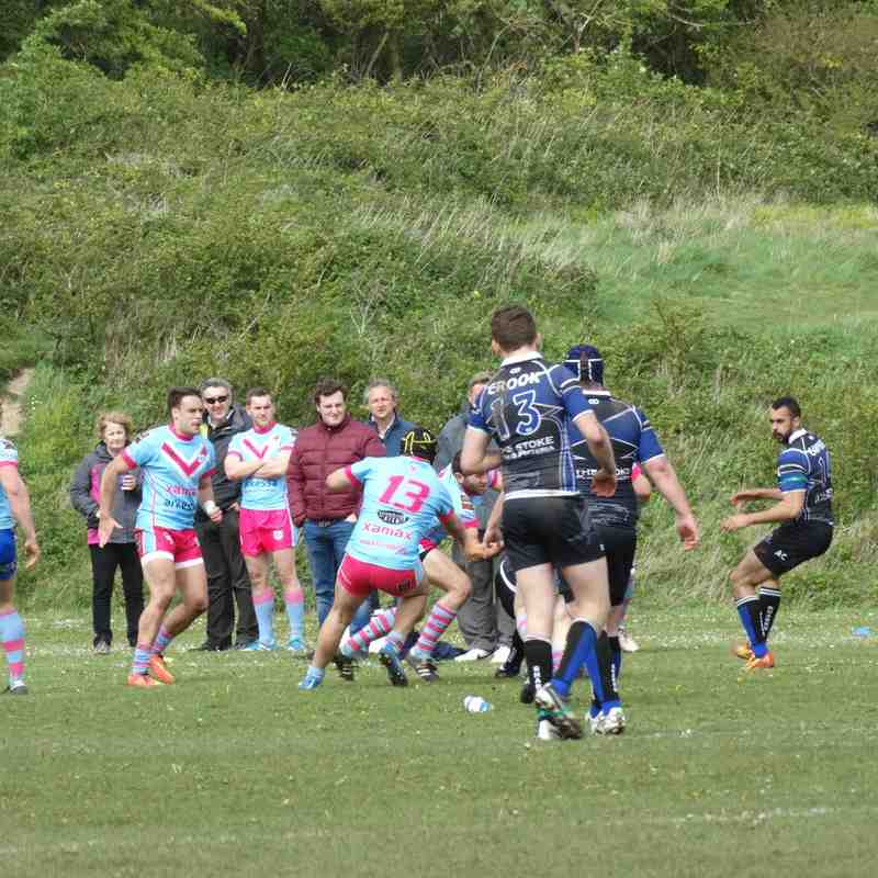 Merlins v Sharks 9th May 2015