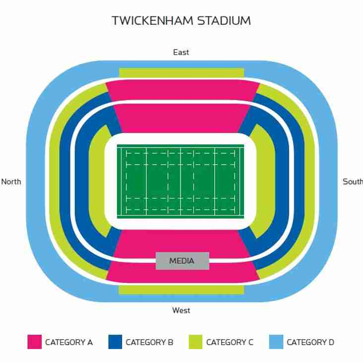 6 Nations 2018 ALL TICKETS ALLOCATED!