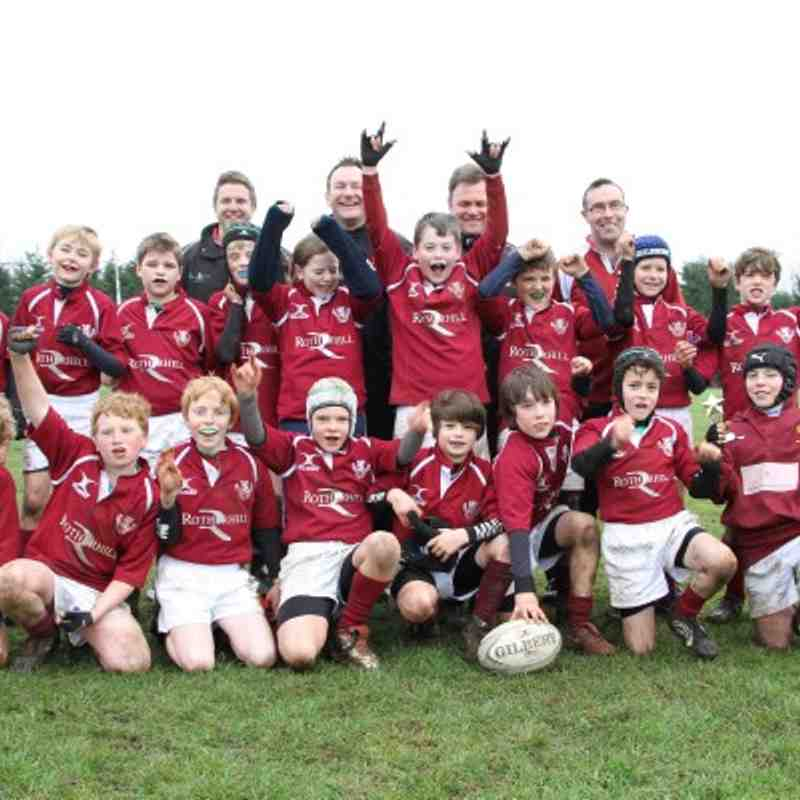 Syston vs MMRFC U11's 13/02/2011