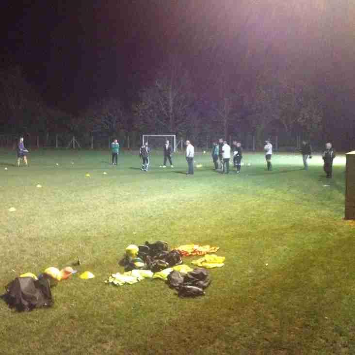 Clubs Progressive Coaching Session