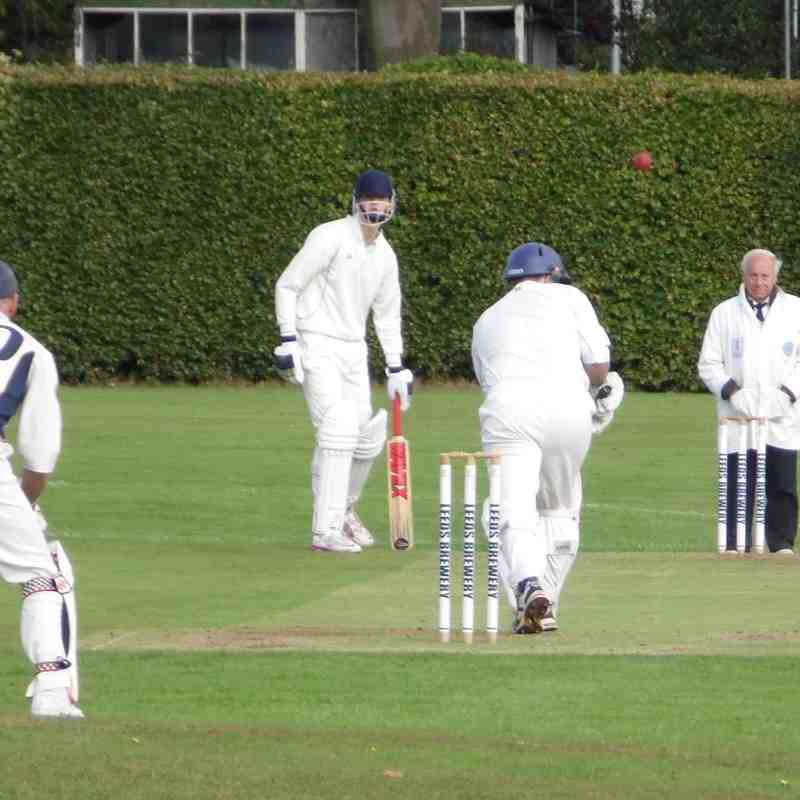 Headingley Bramhope v Hillam & Monk Fryston CC 12/9/15