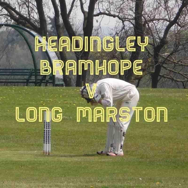 Headingley Bramhope CC v Long Marston CC 8/5/16
