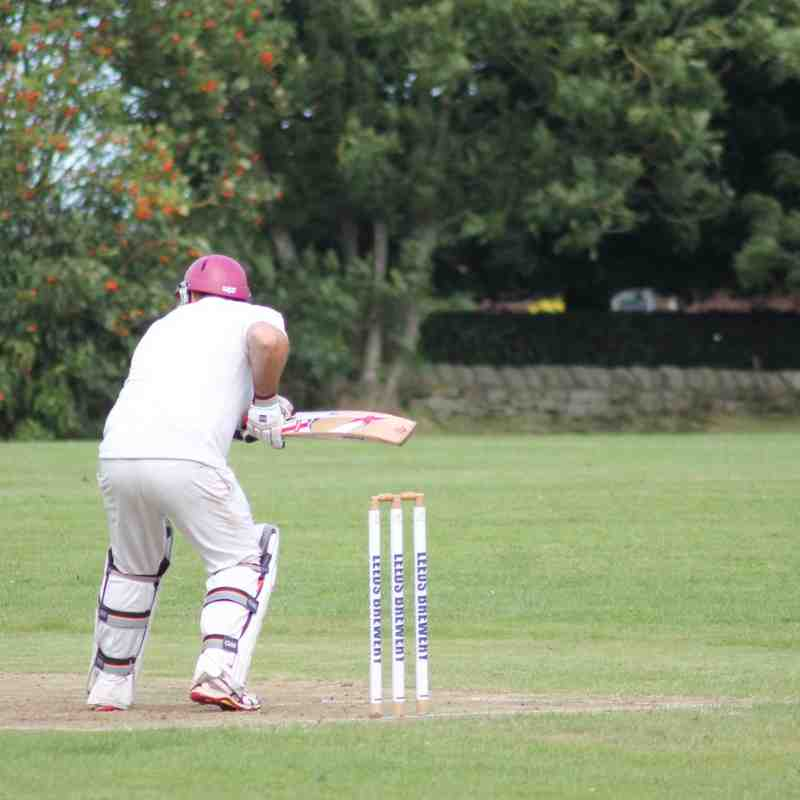 Headingley Bramhope Cricket Club v Ledsham CC - Old Lane, Bramhope. 13th August 2016