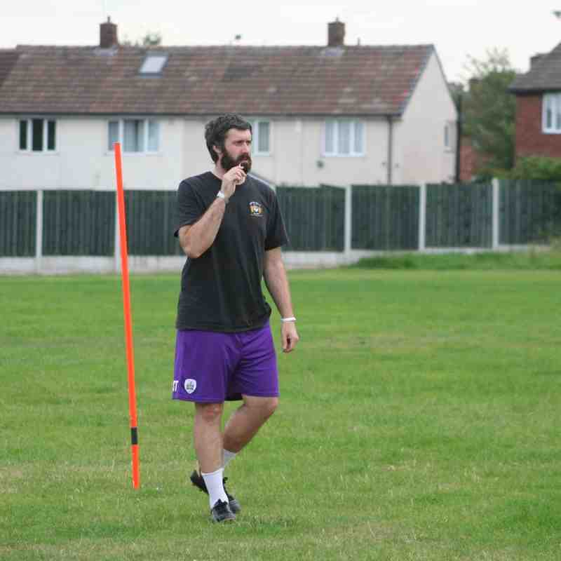 Pre Season Training 29th June 2015