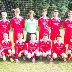 Thu 21st Apr: Under 16's Win 5-0 against Oakwood