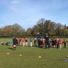 REMEMBRANCE DAY 13/11/2016 With the U6s