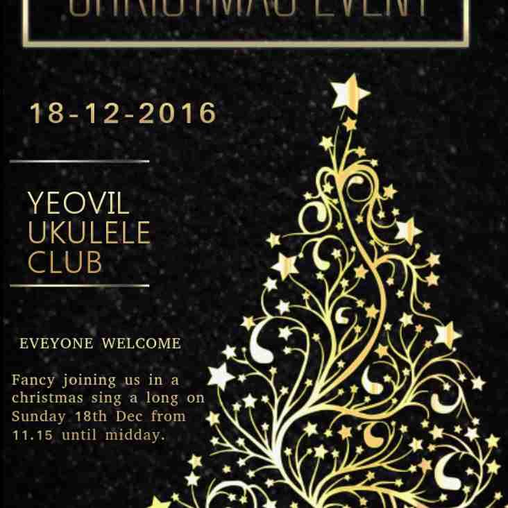 Christmas Sing-along  18-12-2016