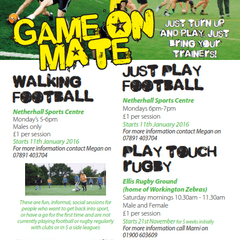 Game on, mate! Get into sport in Allerdale