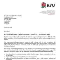 Club secures RFU award