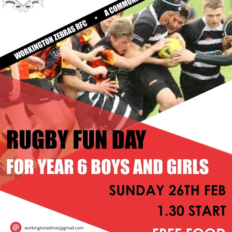 Rugby Fun Day