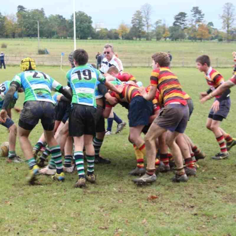 Abbey vs Bicester - 21st Oct 2012