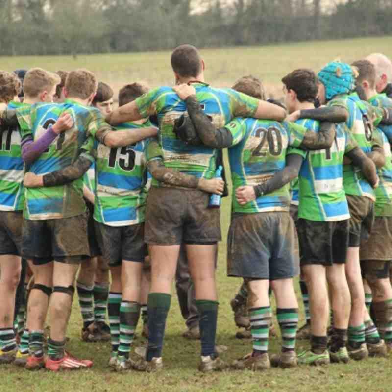 Abbey vs Chinnor - u15's - 13th January 2013
