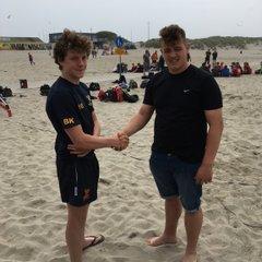 Ipswich YM U15 2016 Dutch Beach Rugby Winners