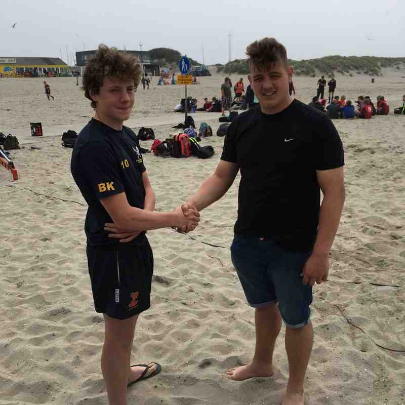 Ipswich YM U15 2016 Dutch Beach Rugby Winners