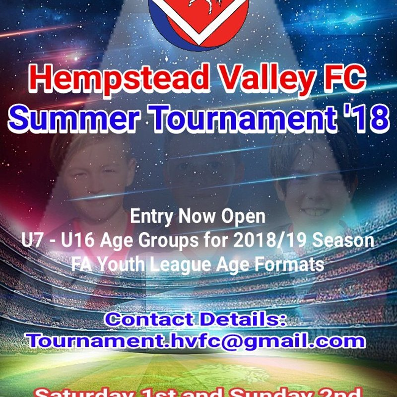 HVFC  Summer Tournament 2018