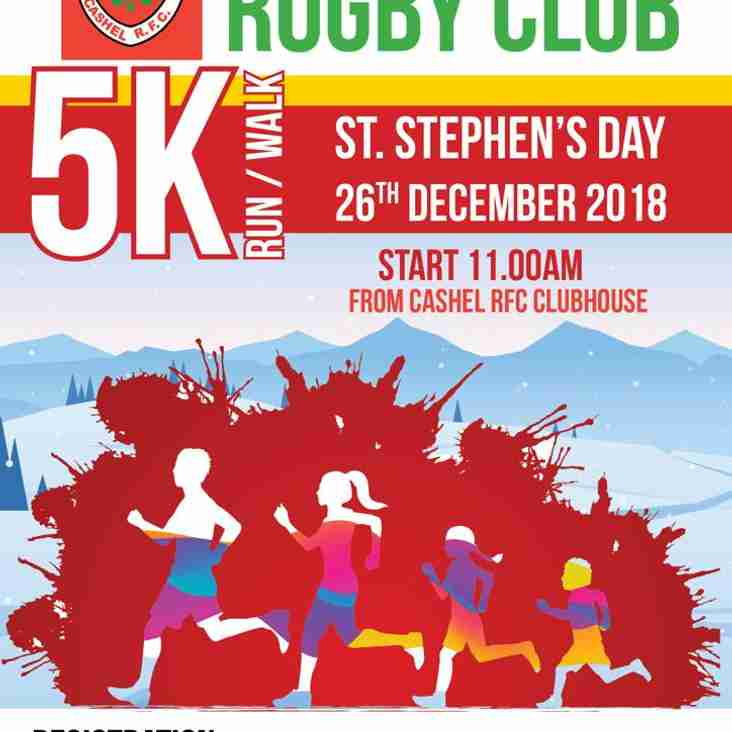 Annual Stephens Day 5km run/walk/jog