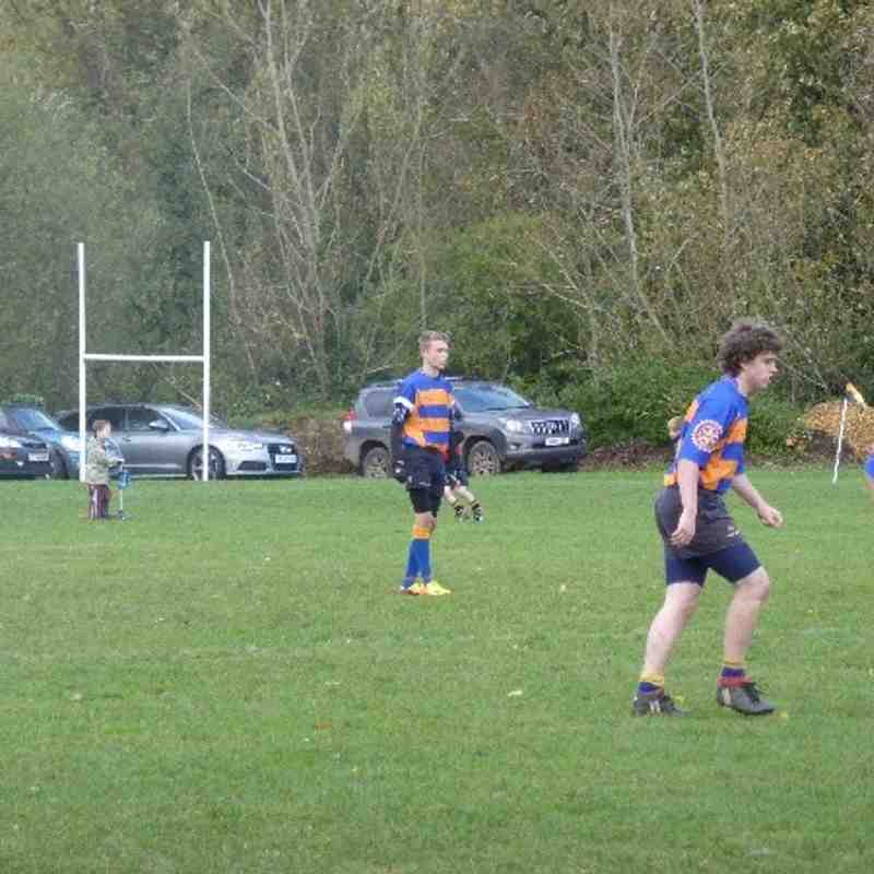 U16's Winchester cup game