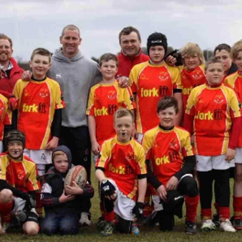 Rockcliff Under 12s at West Park Leeds