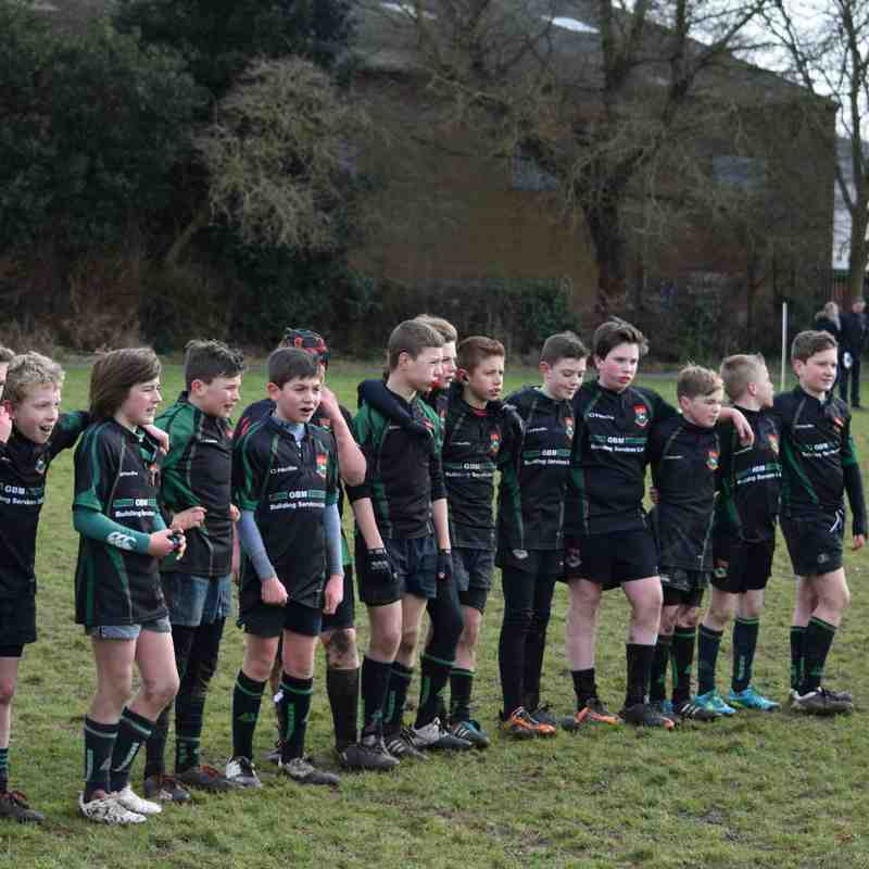 U12s v Boston & Wisbech (22/02/2015)