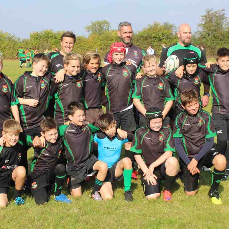 U12s Cambs Development Festival (04/10/2015)