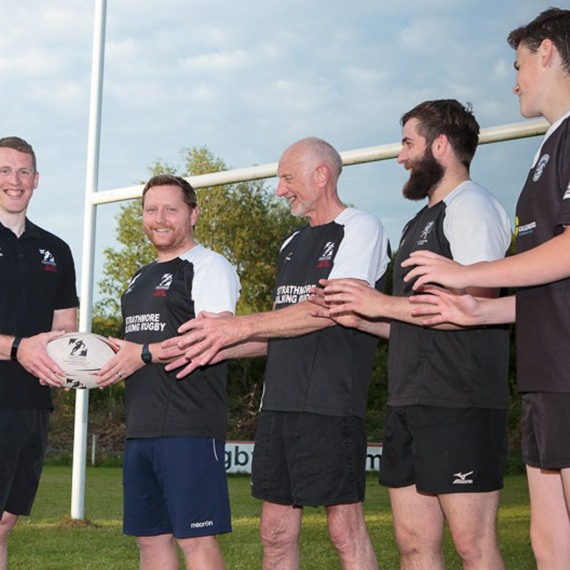 Angus rugby charity passes community projects ball to Josh