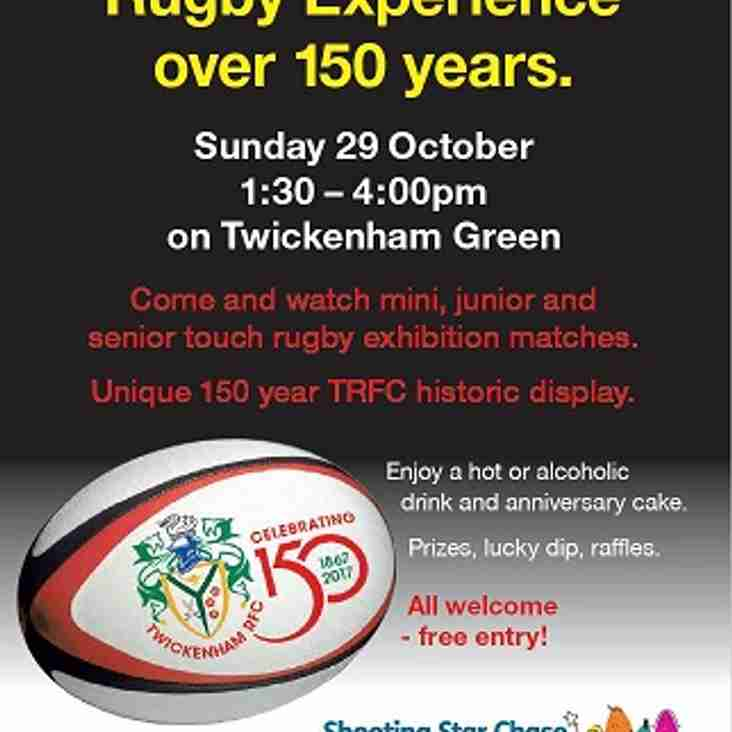 150th Anniversary Touch! Twickenham Green