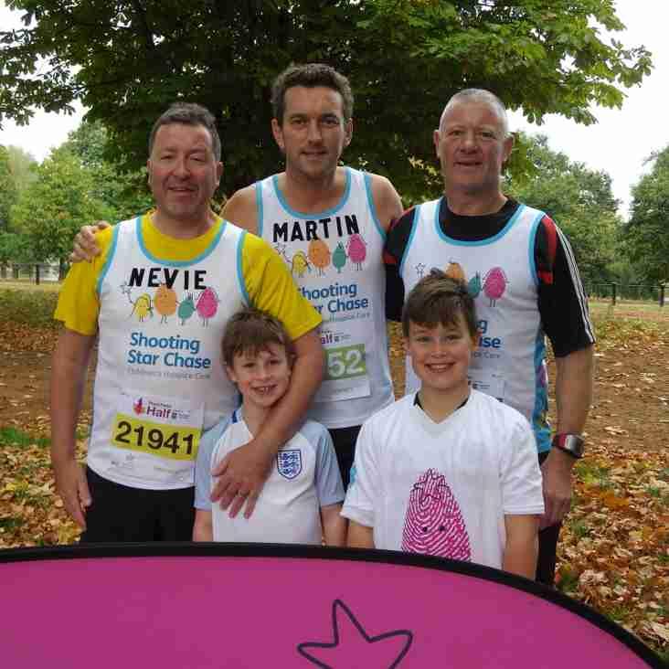 Calling all TRFC Members - Hampton Court Half Marathon
