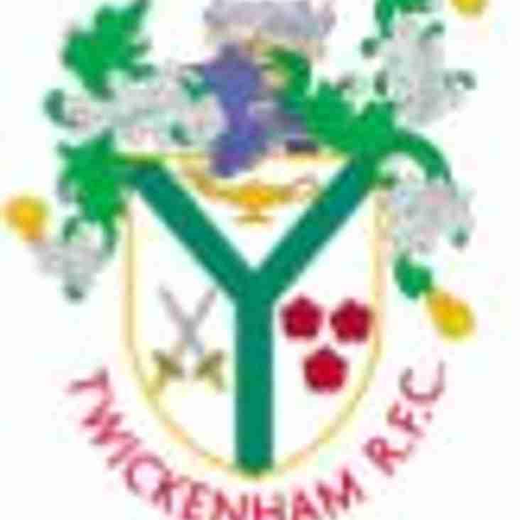 Senior Pre Season Friendlies - Saturday 1 September @ Chiswick RFC