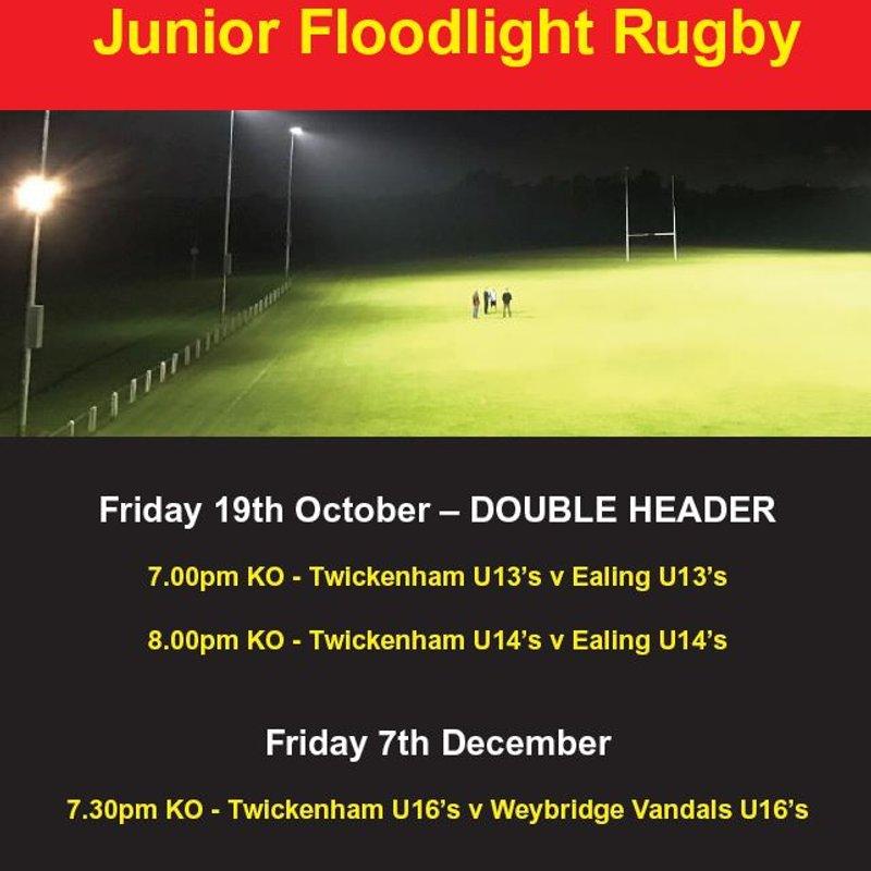 Junior Floodlight Rugby @ TRFC