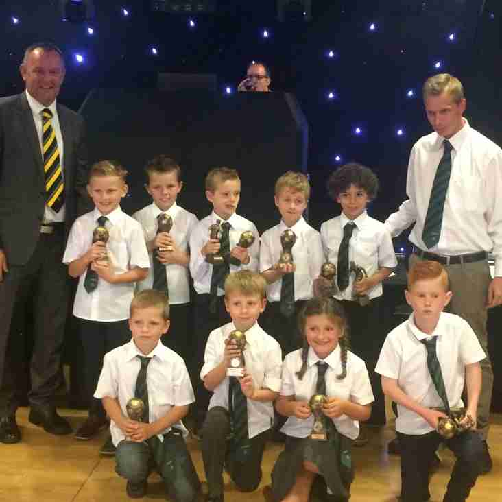 Stretton Eagles u7 first presentation evening