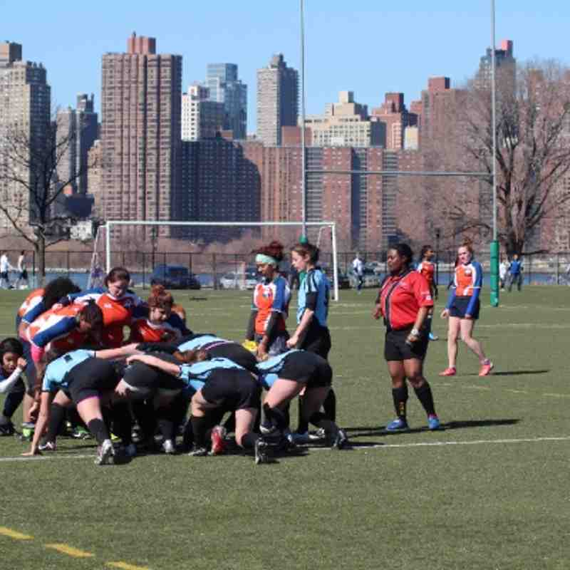 NYRC U19 on April 6 (+NYRC Women)