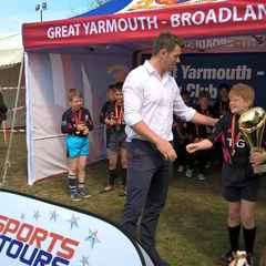 Under 9's on Tour Great Yarmouth