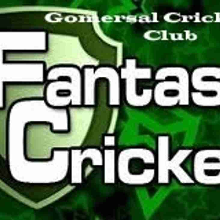 Fantasy Cricket Table