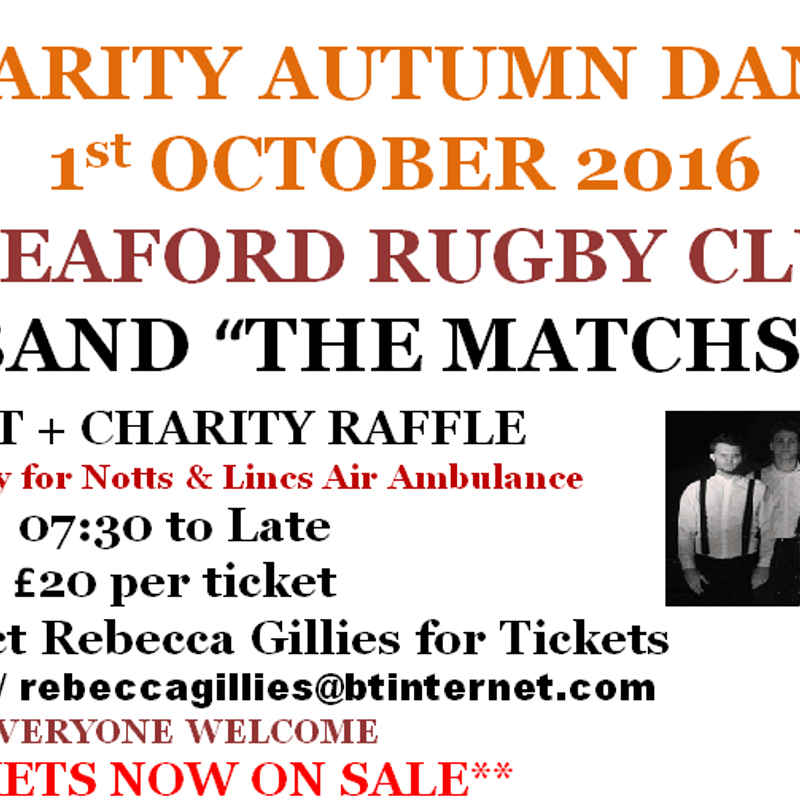 CHARITY NIGHT WITH LIVE MUSIC AND BUFFET OCT 1ST