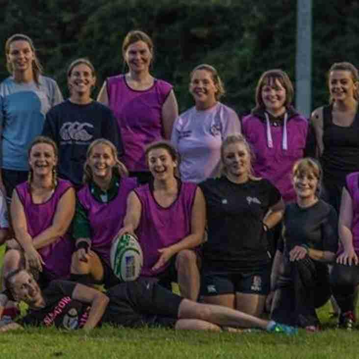 Ladies senior rugby is back 16th October 2pm ko