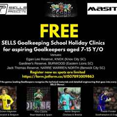 Free School Holiday Clinic for Goalkeepers by SELLS