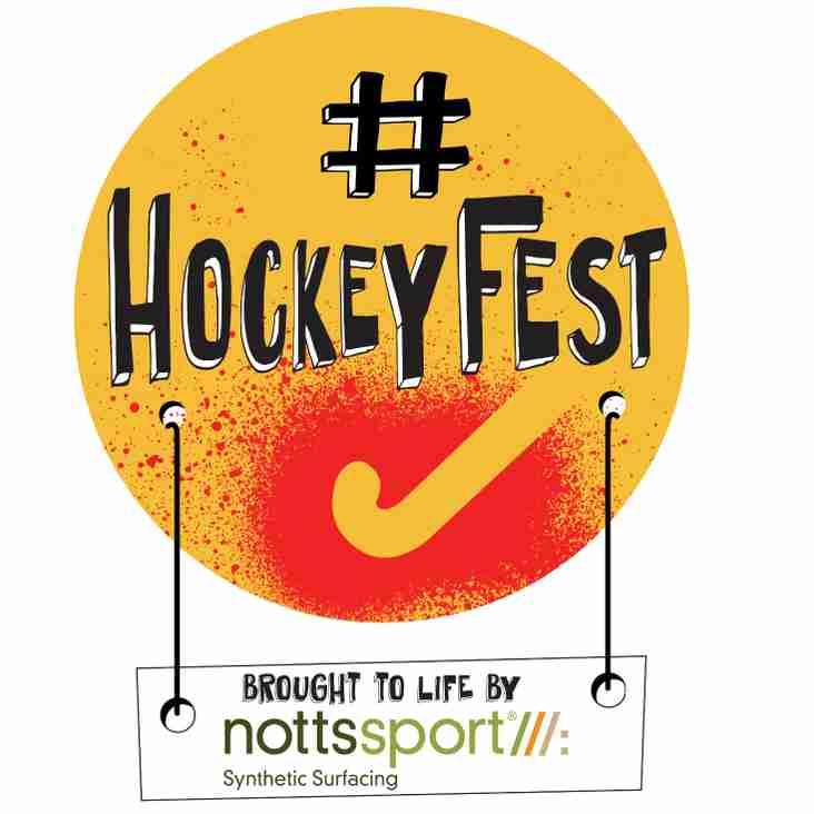 #HOCKEYFEST Weekend Sat 10th & Sun 11th Sept (Trials & Open Day)