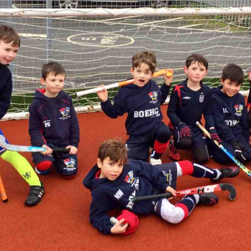 Mixed U8s - Holcombe Tournament 05/02/17