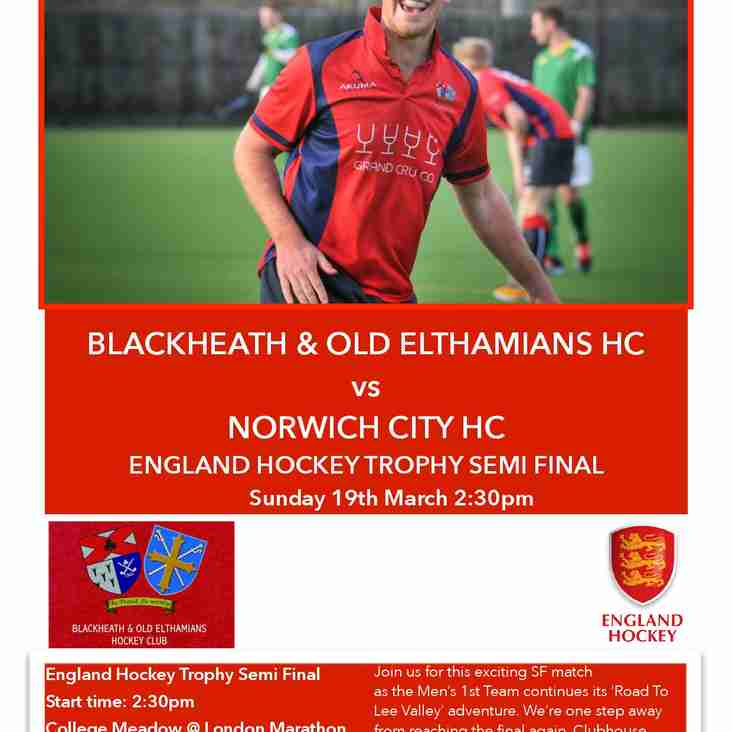 CUP FEVER HITS THE MEADOW: SEMI FINAL - 19/03/17