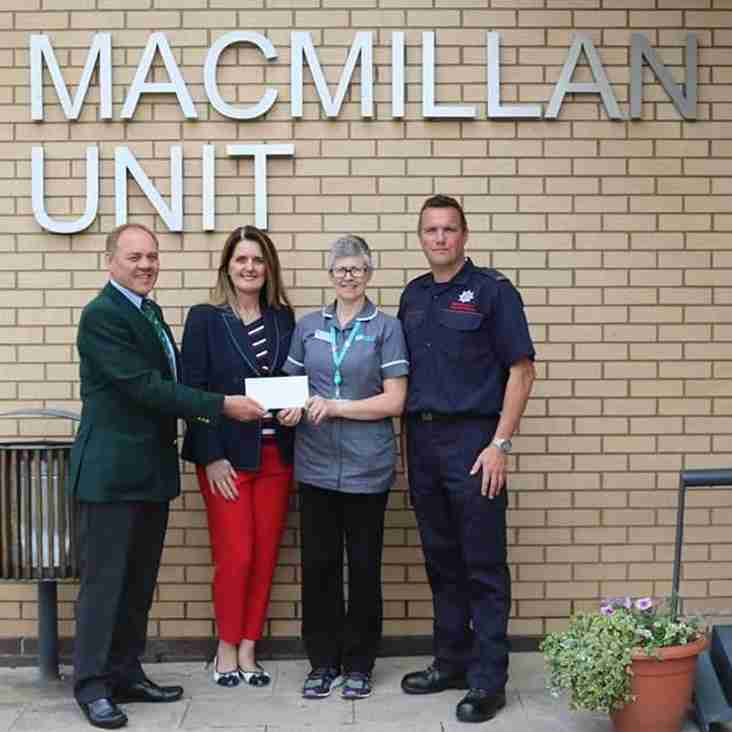 Accies Raise £2,000 for Charity