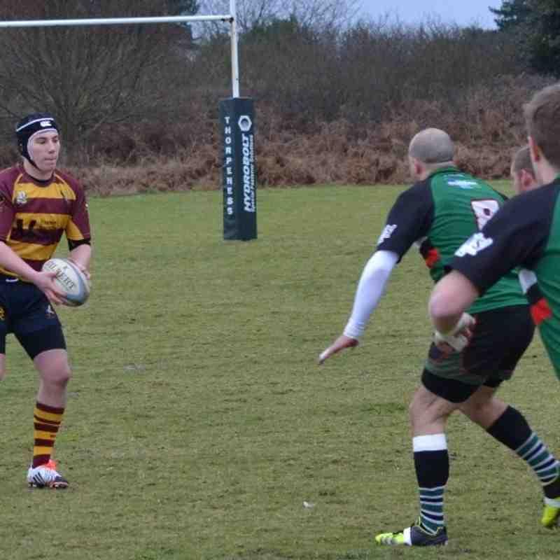 Thorpeness v Ipswich YM 2nd XV (Hawks) - 30/01/15